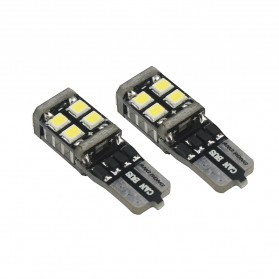 NOVSIGHT Lampu Mobil Headlight LED T10 W5W 11 SMD 2835 2 PCS - A383 - White - 3