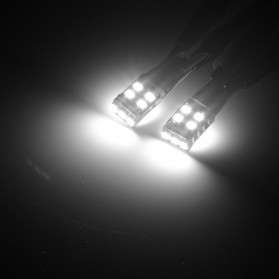 NOVSIGHT Lampu Mobil Headlight LED T10 W5W 11 SMD 2835 2 PCS - A383 - White - 5