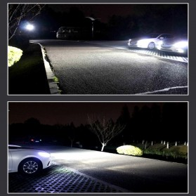Lampu Mobil Headlight LED H7 2 COB 2 PCS - White - 5