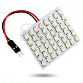 Yue Xin Shun Lampu Mobil Headlight LED T10 BA9S W5W 48 SMD 3528 1 PCS - Warm White - 9