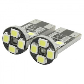 Lampu Mobil Headlight LED T10 W5W 8 SMD 1210 2 PCS - White