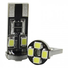 Lampu Mobil Headlight LED T10 W5W 8 SMD 1210 2 PCS - White - 2