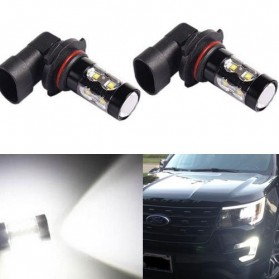 Lampu Mobil Headlight LED H10 10 SMD 9145 2 PCS - White