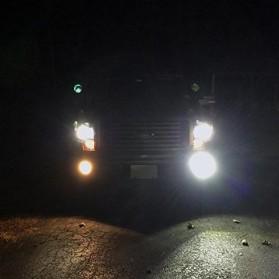 Lampu Mobil Headlight LED H10 10 SMD 9145 2 PCS - White - 2