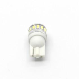 Lampu Mobil Headlight LED T10 W5W 18 SMD 3014 2 PCS - White - 4