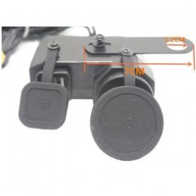YANTU USB Charger Motor 2 Port dengan Cigarette Plug 12V - 170513 - Black - 2