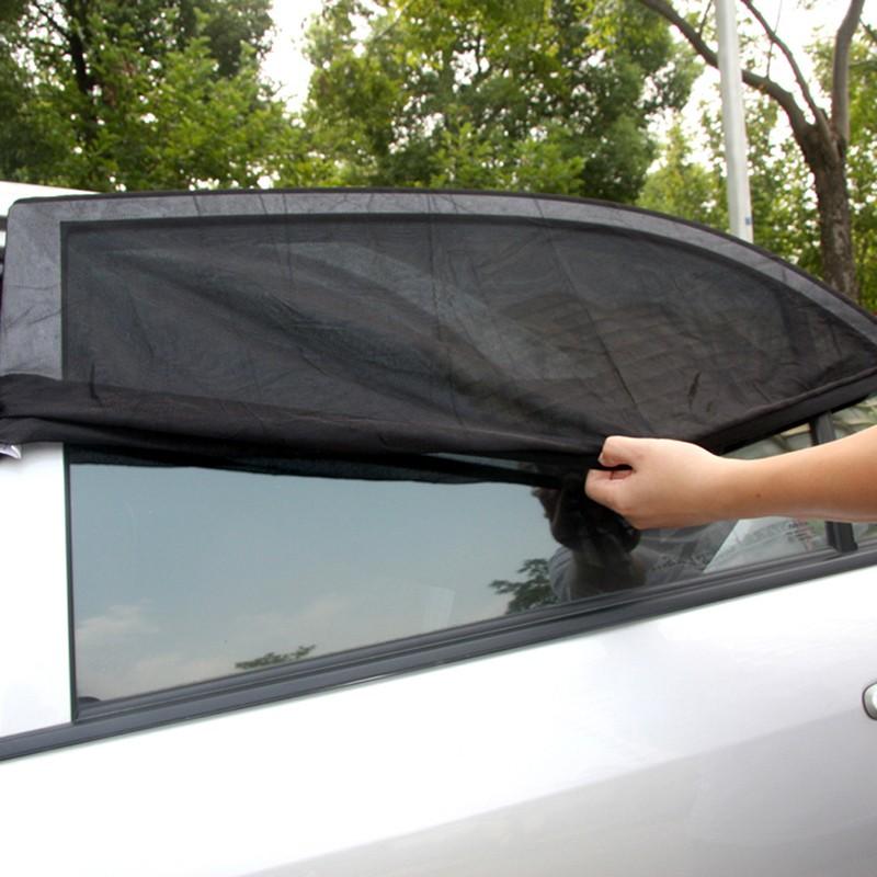 Sun Shade Kaca Jendela Mobil Size S Black