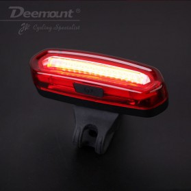 Deemount Lampu Sepeda LED Taillight 120 Lumens - AQY-096 - Red/White - 3