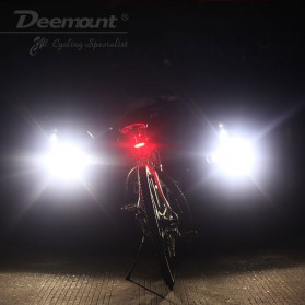 Deemount Lampu Sepeda LED Taillight 120 Lumens - AQY-096 - Red/White - 8