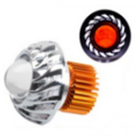 Lampu Motor LED Angel Eye 10W 1 PCS - White