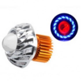 Lampu Motor LED Angel Eye 10W 1PCS - Blue