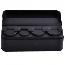 XUNZHE Kotak Uang Koin Receh Mobil -1222ZSY - Black - 3