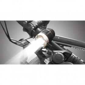 Newboler Lampu Sepeda DC 1800 Lumens CREE XML - T6 - Black - 3