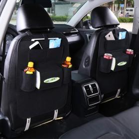 Dekorasi Mobil - AUMOHALL Organizer Barang Gantungan Kursi Mobil - 070601 - Black