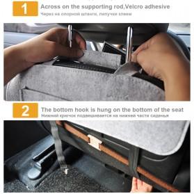 AUMOHALL Organizer Barang Gantungan Kursi Mobil - 070601 - Black - 3