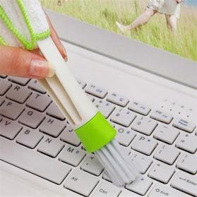 VODOOL Sikat Pembersih Microfiber Interior Mobil Duster Brush - Q128 - Green - 4
