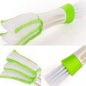 VODOOL Sikat Pembersih Microfiber Interior Mobil Duster Brush - Q128 - Green - 5