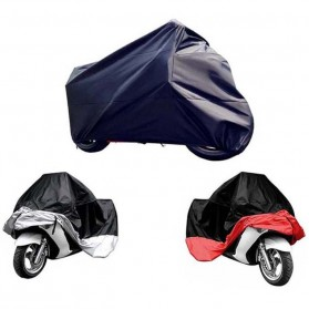 Felis Choce Cover Sarung Pelindung Motor Size XXL - Black/Red - 2