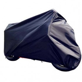 Felis Choce Cover Sarung Pelindung Motor Size XXL - Black/Red - 3