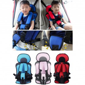 Car Seat Bayi Portable Comfy Sponge - BA04 - Blue - 3