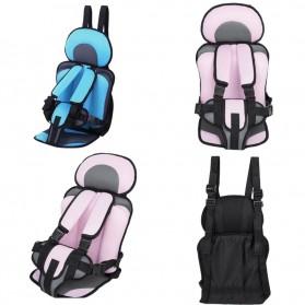 Car Seat Bayi Portable Comfy Sponge - BA04 - Blue - 4