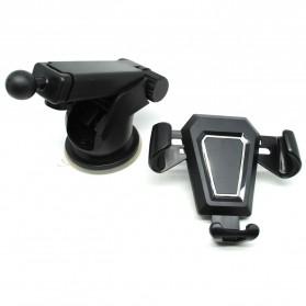 Car Holder Smartphone Automobile - Black