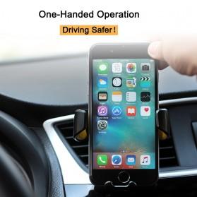 Air Vent Smartphone Holder Mobil - 170902 - Black - 2