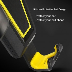 Air Vent Smartphone Holder Mobil - 170902 - Black - 4