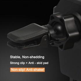 Air Vent Smartphone Holder Mobil - 170902 - Black - 5