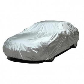 Sarung Cover Mobil SUV Alumunium Size YXL - Silver