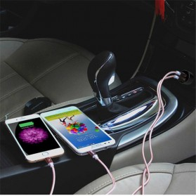YOPIN Car Charger 2 Port 2.4A QC3.0 - Black - 5