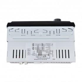 Audio Player Mobil 12V 1Din FM Receiver AUX USB SD Slot - CDX-GT1044 - Black - 4
