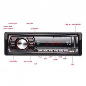Audio Player Mobil 12V 1Din FM Receiver AUX USB SD Slot - CDX-GT1044 - Black - 6