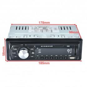Audio Player Mobil 12V 1Din FM Receiver AUX USB SD Slot - CDX-GT1044 - Black - 7