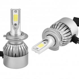 Lampu Mobil Headlight LED H7 COB 2 PCS - C6 - White - 3