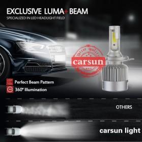 Lampu Mobil Headlight LED C6 H7 COB 2 PCS - White - 5