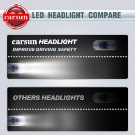 Lampu Mobil Headlight LED H7 COB 2 PCS - C6 - White - 10