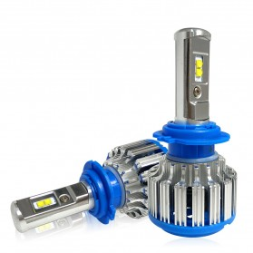 Lampu Mobil Headlight LED H7 SMD 2 PCS - White - 1