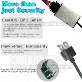Lampu Mobil Headlight LED H7 SMD 2 PCS - White - 5