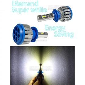 Lampu Mobil Headlight LED H7 SMD 2 PCS - White - 9