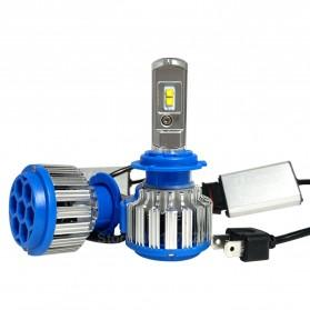 Lampu Mobil Headlight LED 9005 HB3 SMD 2 PCS - White - 3