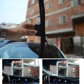 Alat Reparasi Wiper Mobil Scratch Wiper Blade Repair Kit - C37773 - Black - 2