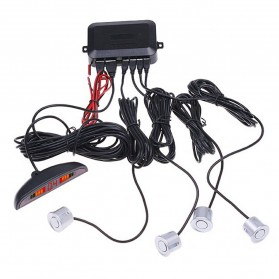 Parktronic Radar LED dengan 4 Sensor Parkir Mobil - LH811A8R62 - Black - 6