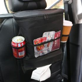 Organizer Barang Gantungan Kursi Mobil dengan Ice Bag - Black