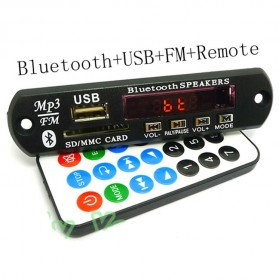Digital Decoding Board Bluetooth SD Card FM Radio