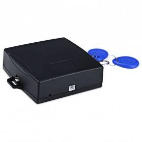 Push Start System Keamanan Mobil Canggih Keyless RFID - KQS-Q4 - Black - 3