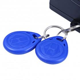 Push Start System Keamanan Mobil Canggih Keyless RFID - KQS-Q4 - Black - 6