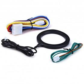 Push Start System Keamanan Mobil Canggih Keyless RFID - KQS-Q4 - Black - 7