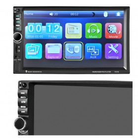 MP5 Media Player Monitor Mobil LCD Touchscreen 7 Inch - Black - 2