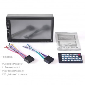 MP5 Media Player Monitor Mobil LCD Touchscreen 7 Inch - Black - 5